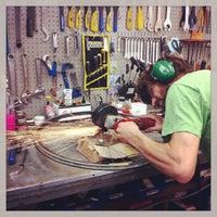 Photo taken at Upgrade Cycle Works by Josh K. on 8/13/2013