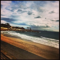 Photo taken at Platja del Miracle by Loveo_ M. on 1/13/2013