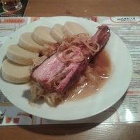 Photo taken at Neklid Restaurant by Zdeněk K. on 10/20/2012