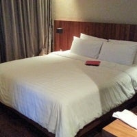 Photo taken at LUXX XL Hotel by Rora B. on 10/22/2012