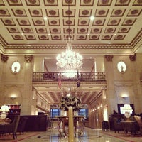 Photo taken at The Roosevelt Hotel by Ryan O. on 1/13/2013