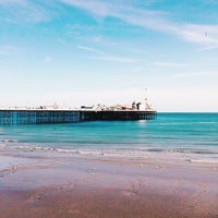 Photo taken at Brighton Palace Pier by Ayşo! on 4/30/2015