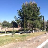Photo taken at Parque Hundido by Melita L. on 2/26/2013