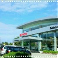 Photo taken at Toyota Perintis Perkasa Medan by melinda h. on 4/18/2013