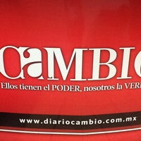 Photo taken at Diario Cambio by Armando A. on 6/25/2013