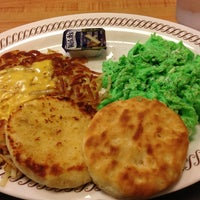 Photo taken at Waffle House by Sarah on 3/17/2013