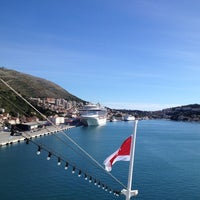 Photo taken at Dubrovnik Port by Tatiana on 10/17/2012