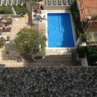 Photo taken at Hotel Derby Barcelona by Виктория on 9/8/2014