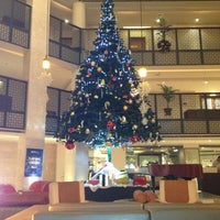 Photo taken at Radisson Blu Water Garden Hotel by NORDWIND on 12/22/2012