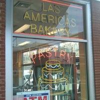Photo taken at Las Americas Bakery by JOHEL B. on 10/17/2012