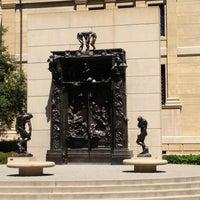 Photo taken at Rodin Sculpture Garden by Krysta T. on 4/14/2013
