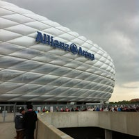 Photo taken at Allianz Arena by Mario K. on 5/25/2013