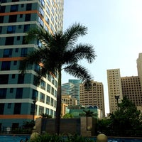 Photo taken at Eastwood Pool by Xtian C. on 4/20/2014