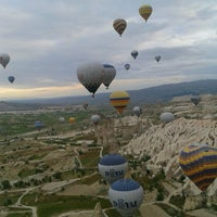 Photo taken at Ürgüp Hot Air Balloons by maralım .. on 5/12/2013