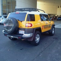 Photo taken at Fred Anderson Toyota by Kevin D. on 11/9/2012
