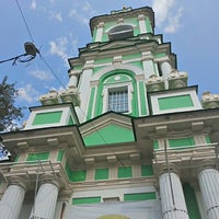 Photo taken at Храм Усекновения главы Иоанна Предтечи под Бором by Alexander M. on 7/11/2013