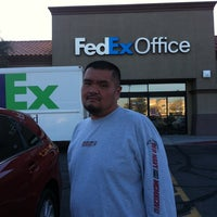 Photo taken at FedEx Office Print & Ship Center by May A. on 12/27/2012