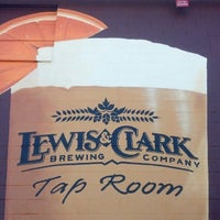 Photo taken at Lewis & Clark Brewery & Tap Room by Bob on 7/26/2013