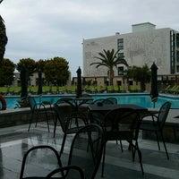 Photo taken at Marina Hotel & Bungalows by Erwan G. on 4/15/2014
