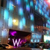 Photo taken at W London Hotel by Brandon M. on 10/3/2012