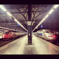 Photo taken at Brussels-South Railway Station (ZYR) by Jiri K. on 11/3/2012