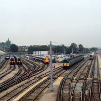 Photo taken at Clapham Junction Railway Station (CLJ) by Jiri K. on 9/11/2014