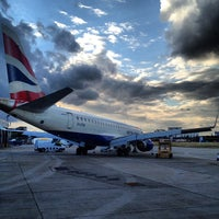 Photo taken at London City Airport (LCY) by Jiri K. on 9/27/2012