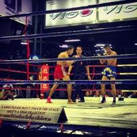 Photo taken at Lumpinee Boxing Stadium by Natalia W. on 7/12/2013