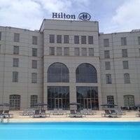 Photo taken at Hilton Malabo by enes. on 9/22/2013