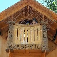 Photo taken at Eco-Selo Grabovica by Vladimir V. on 8/17/2014