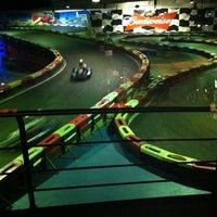 Photo taken at Indoor Karting Barcelona by Nagish on 1/30/2013