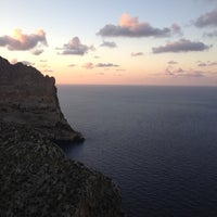 Photo taken at Cap de Formentor by Pierre on 10/23/2012