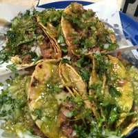 Photo taken at Tacos Charly by Gustavo A. M. on 12/21/2012