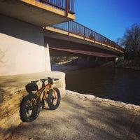 Photo taken at cannon river bridge by Michael L. on 11/10/2016