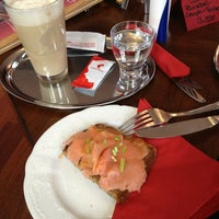Photo taken at Café Vienna by Mica on 1/31/2013