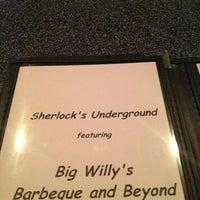Photo taken at Sherlock's Underground Coffee House & Pub by Logan on 3/16/2013