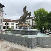 Photo taken at Manessebrunnen by Юрий П. on 6/29/2018