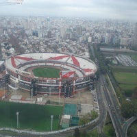 "Photo taken at Estadio Antonio Vespucio Liberti ""Monumental"" (Club Atlético River Plate) by Juanma R. on 6/8/2013"