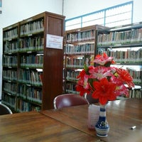 Photo taken at Perpustakaan Umum Magelang by Nunik R. on 2/7/2014