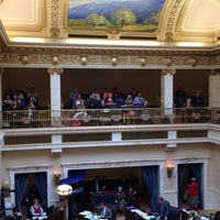 Photo taken at Utah State Senate by Holly F. on 3/11/2014