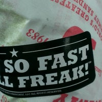 Photo taken at Jimmy John's by Peggy Buzz T. on 5/14/2014