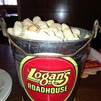 Photo taken at Logan's Roadhouse by Elizabeth on 1/10/2013