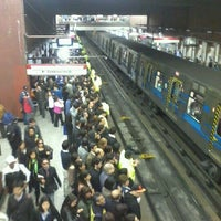 Photo taken at Metro Baquedano by Deborah N. on 10/16/2012