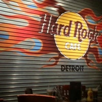 Photo taken at Hard Rock Cafe Detroit by Dawn H. on 4/7/2013