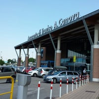 Photo taken at Treviso-Sant'Angelo Airport (TSF) by Cesare R. on 6/21/2013