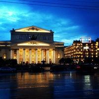 Снимок сделан в Большой театр пользователем Oleg V. 🇷🇺 7/19/2013