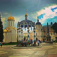 Photo taken at The Holy Trinity-St. Sergius Lavra by Oleg V. 🇷🇺 on 6/2/2013