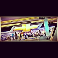 Photo taken at Chevrolet Booth - Hall C2 by Janu B. on 9/19/2012
