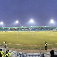 Photo taken at FRIMO Stadion by Mietzekotze on 2/8/2017