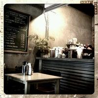 Photo taken at Fat Spoon Café by Rachel W. on 10/14/2012